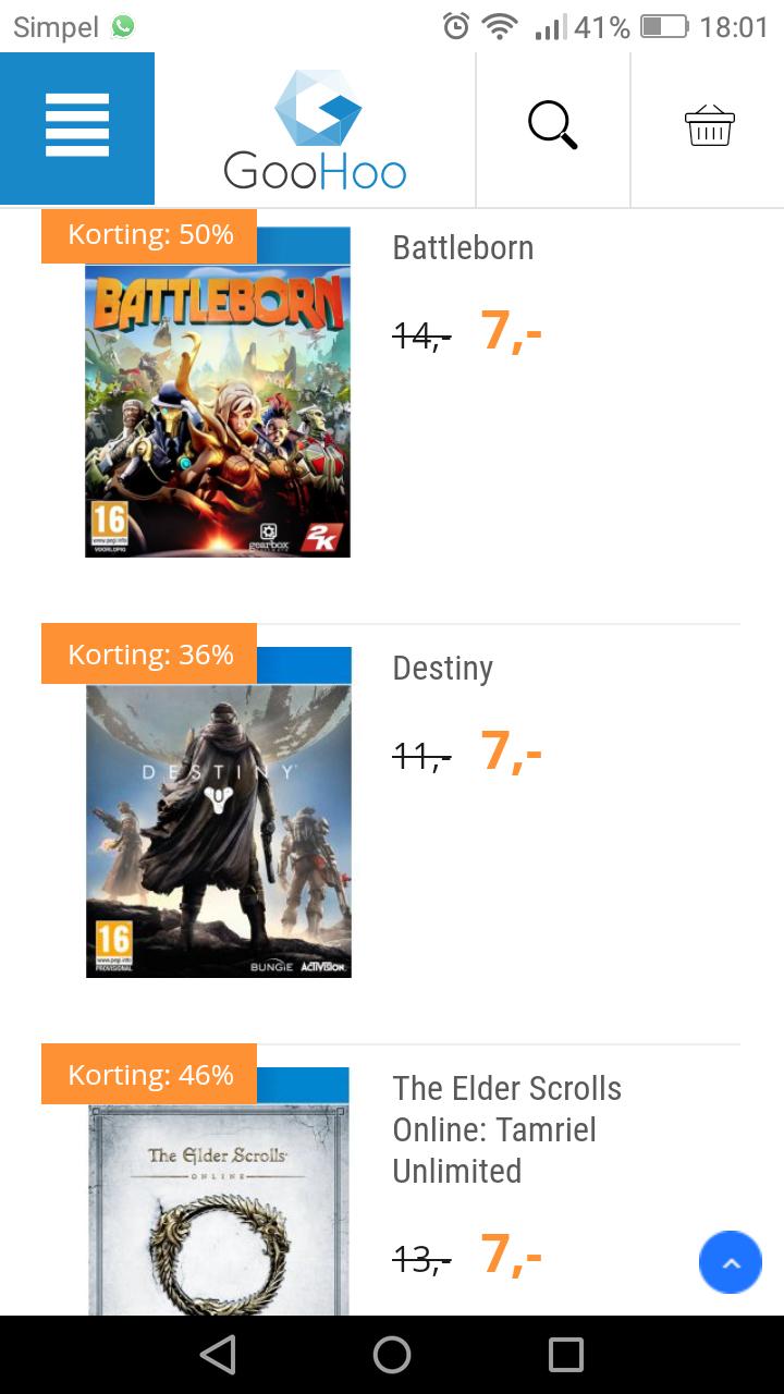 Verschillende ps4 games in de aanbieding bij GooHoo