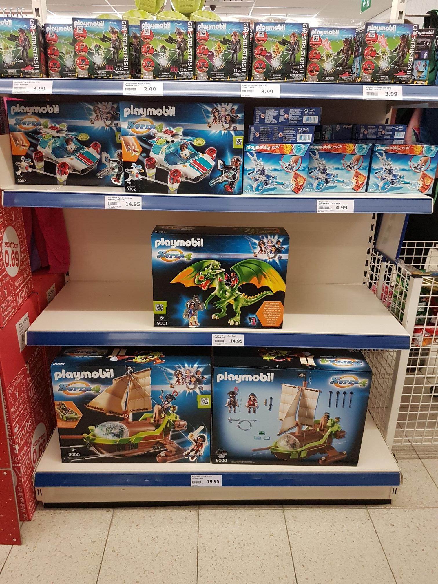 Diverse soorten Playmobil @ Action