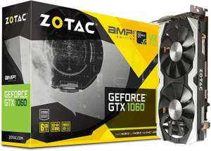 Zotac GeForce GTX 1060 AMP! Edition 6GB @ Amazon.de