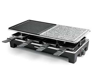 Rommelsbacher RCS 1350 Raclette-grill, zwart/roestvrij staal