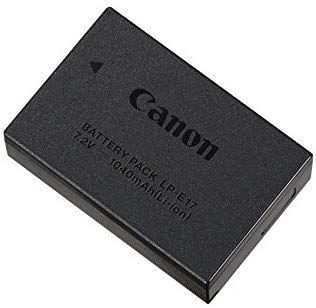 Canon LP E17 batterij voor o.a. canon eos m5 bij Amazon