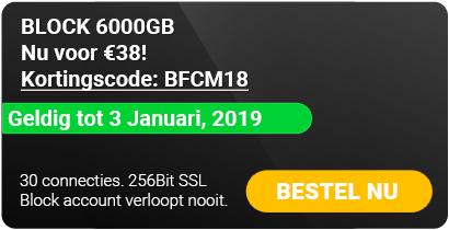 Block 6000 Gb  voor 38 euro, onbeperkt houdbaar