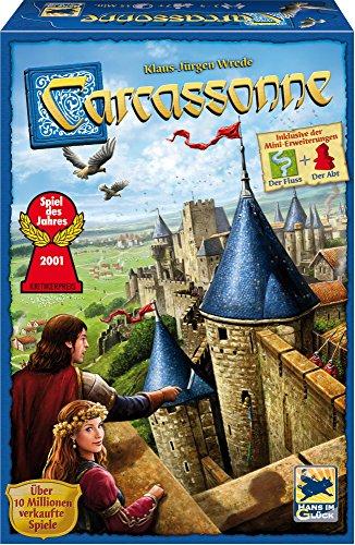 Bordspel Carcassonne - Nieuwe editie (Bij Bol.com €18,99)