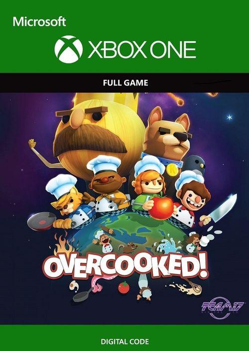 Overcooked (Xbox One Download) voor €5,09 @ CDkeys