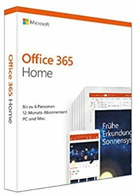 Office 365 Home 6 users - 1 jaar - incl 1TB OneDrive per user