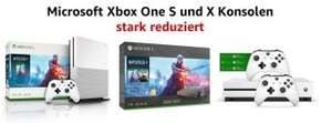 Xbox One S en X bundels sterk afgeprijsd @ Amazon DE