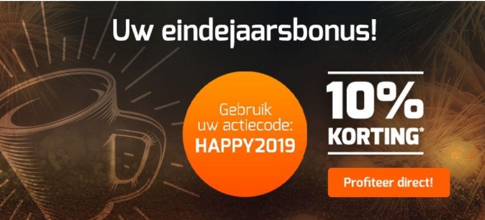 10% korting op jouw bestelling bij koffievoordeel.nl
