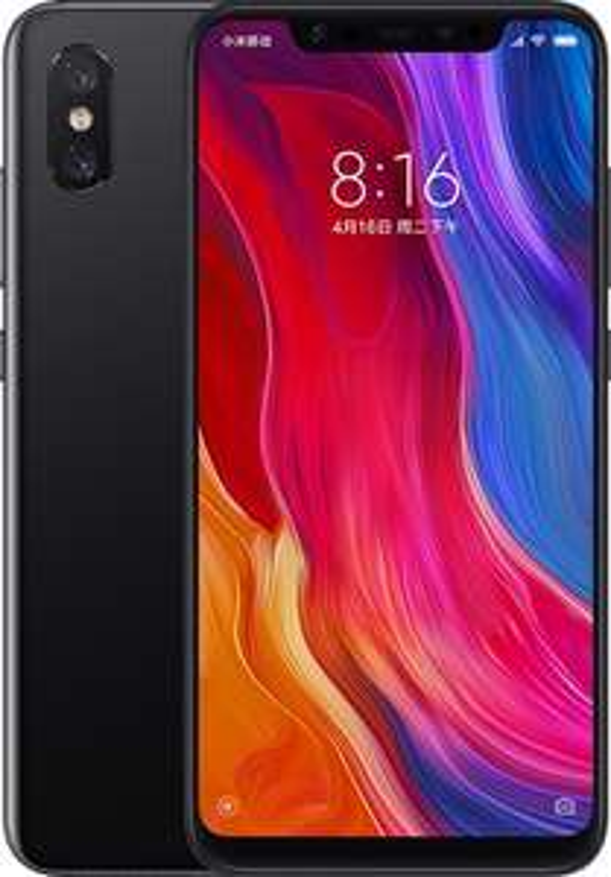 Xiaomi Mi 8 64gb (zwart/blauw)