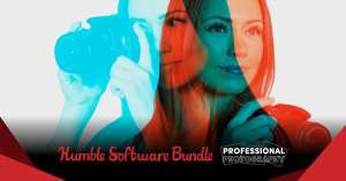 HumbleBundle Proffesionele fotografie bundle