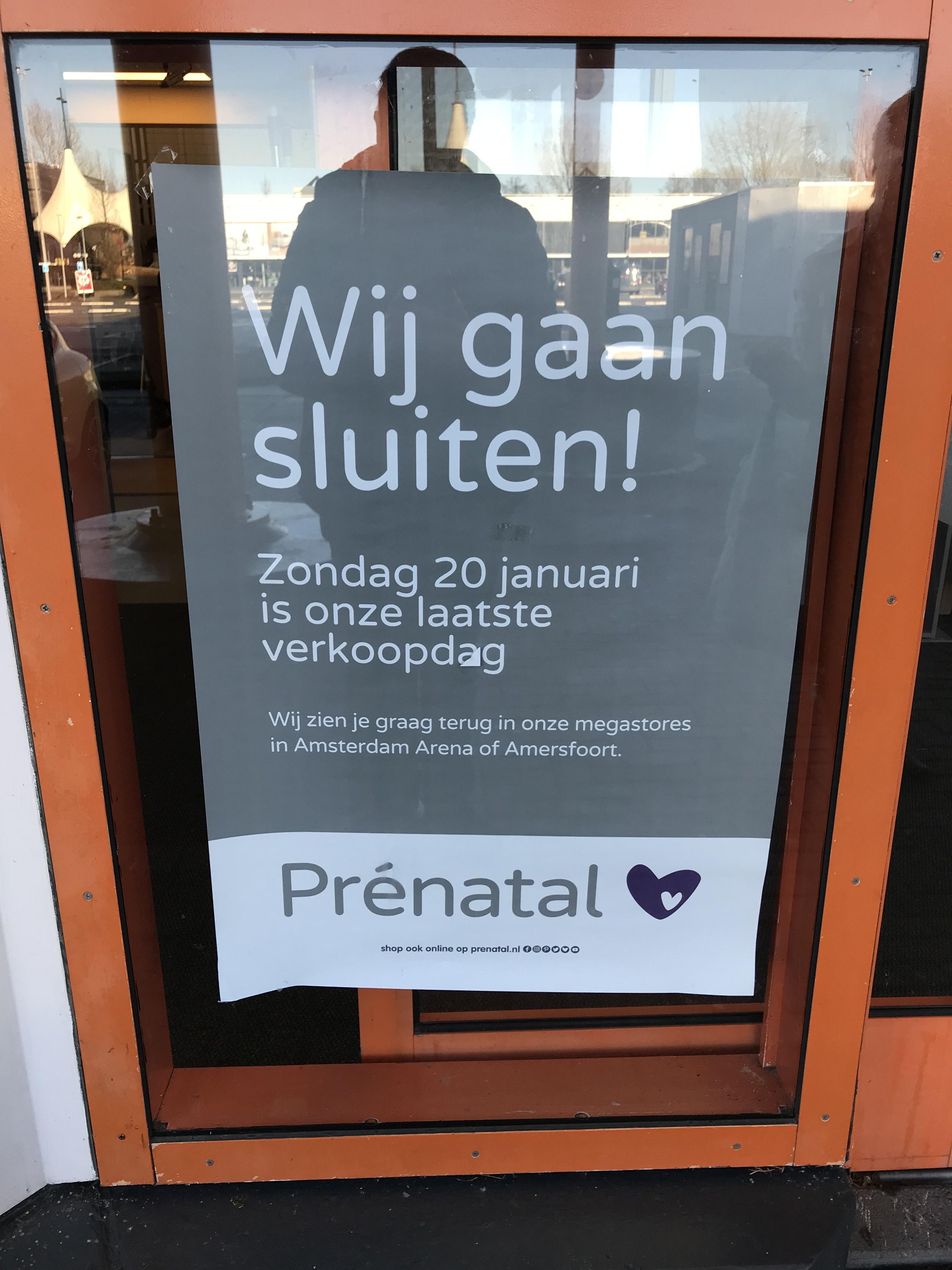 Prénatal Almere - minimaal 20% korting op alles