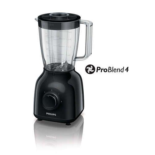 Philips Problend 4 Blender (elders: €37,99) | 30% extra korting @Kruidvat