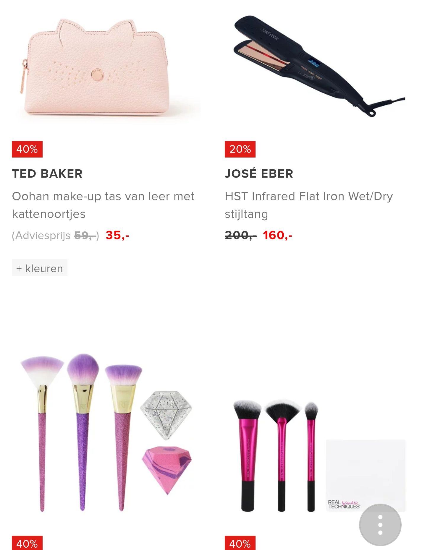 SALE: make-up accessoires tot -50% korting @Bijenkorf