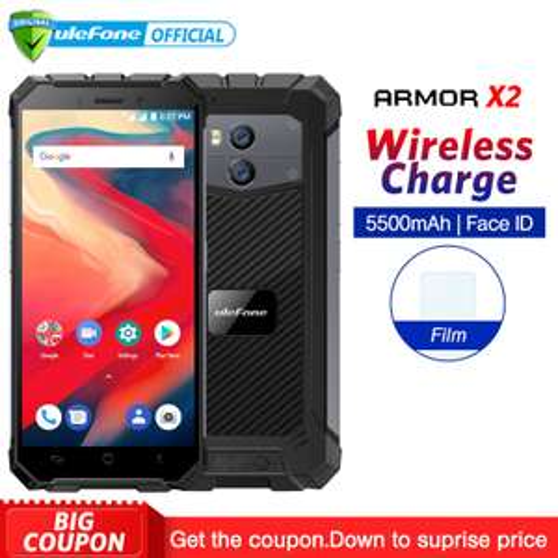 Ulefone Armor X2 super stevige smartphone in flash sale
