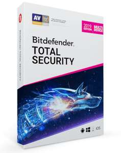 BitDefender Total Security (5-Devices 1 jaar) @Bitdefender