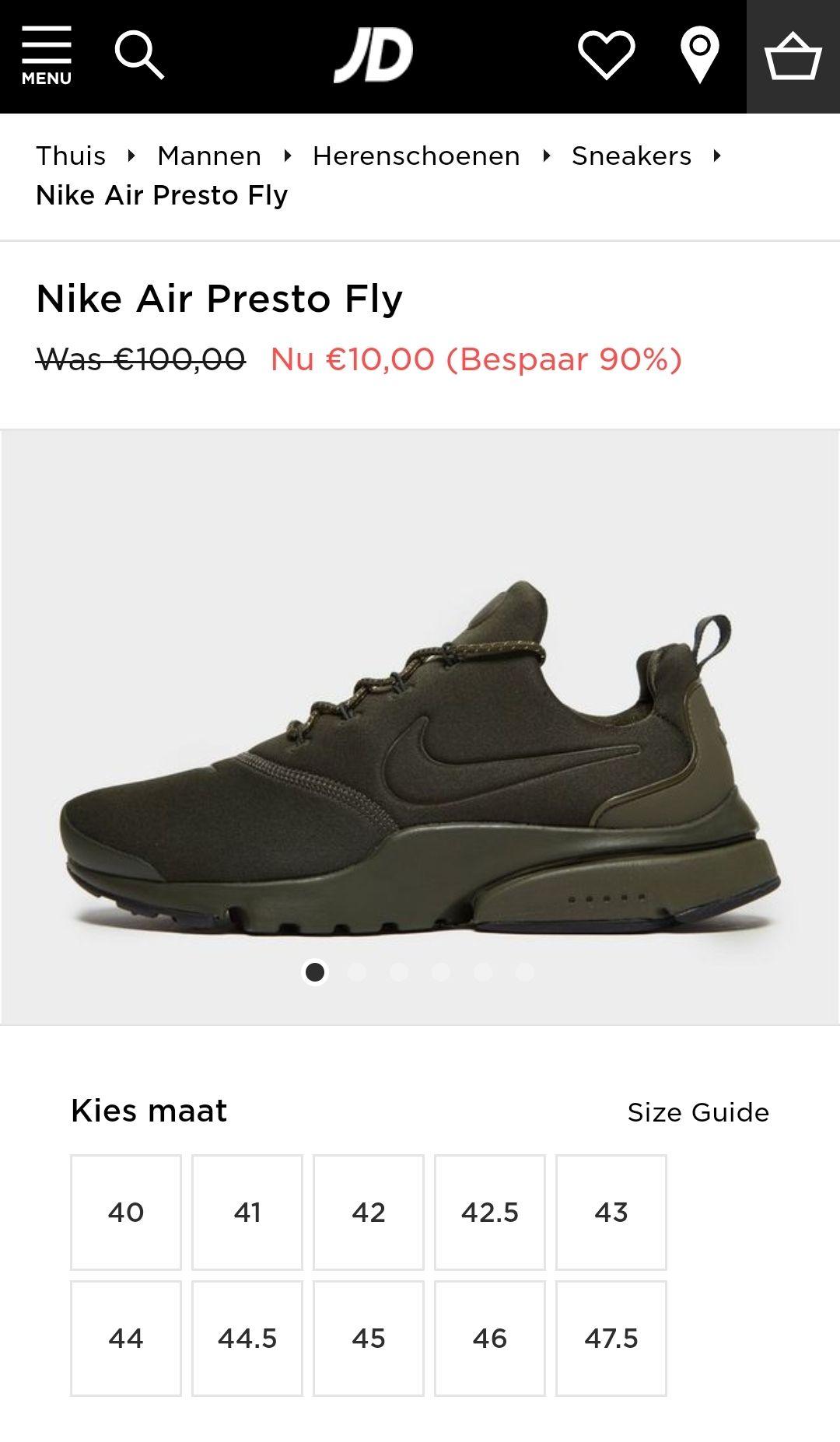 Nike schoenen (alleen maat 46!) Voor maar 10 euro