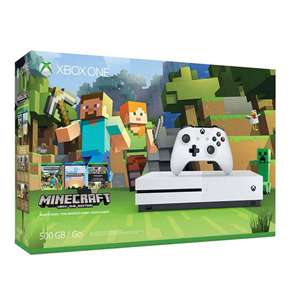 Xbox One S 500GB Minecraft Bundel voor €154 @ Intertoys