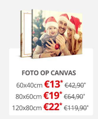 Canvas 120x80 cm €22 @ Bestecanvas.nl