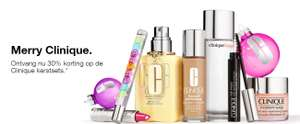Actie: 30% korting op giftsets @ Clinique