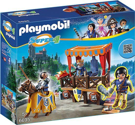 PLAYMOBIL Koningstribune met Alex - 6695 voor € 9,99