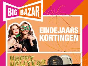 Big Eindejaarskortingen @ Big Bazar