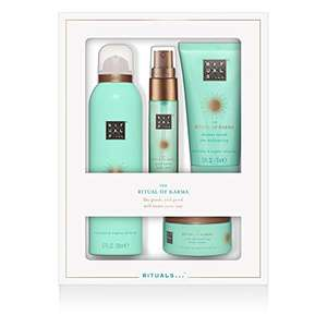 Rituals Cosmetics Rituals Whs Discovery Set Karma Foaming Shower Gel 200ml, Body Scrub 70 Gr, Body Cream 125ml, Bed & Body Mist 20 Ml