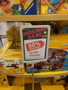 50% korting op Twickto @Intertoys