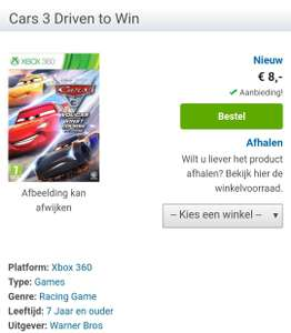 Cars 3 Driven To Win voor Xbox 360
