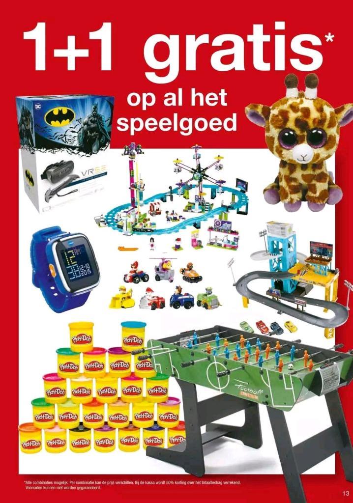 Speelgoed 1+1 gratis bij de Makro ook Lego en Duplo