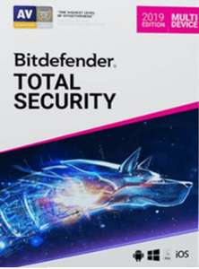 Bitdefender Total Security Multi Device (1 jaar / 5 apparaten) - €17,5