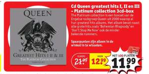 Queen Greatest Hits Platinum Collection @Kruidvat