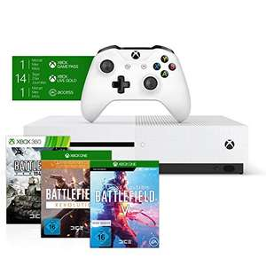Xbox One S 1TB - Battlefield V Bundel @Amazon.de