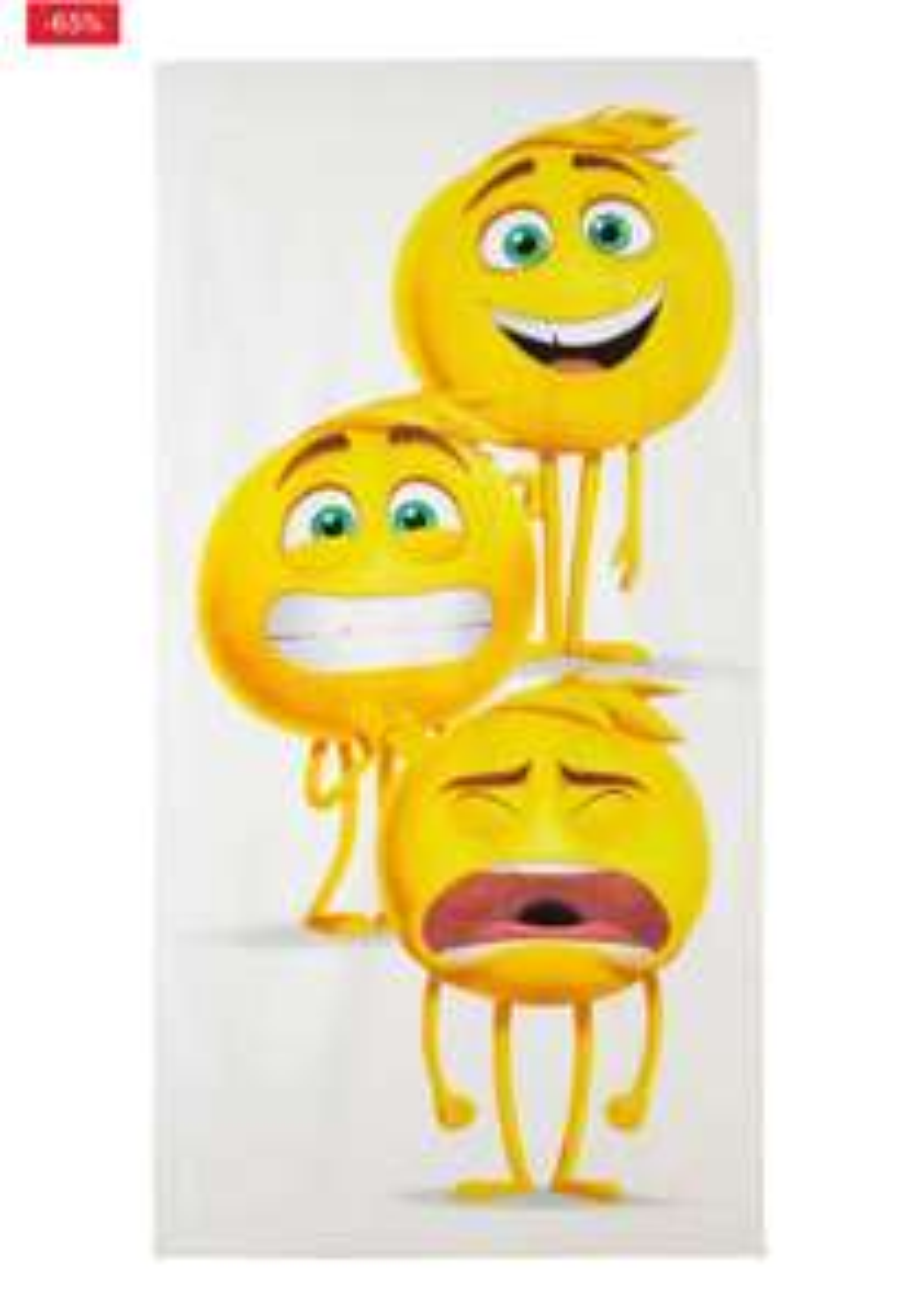 Emoji kinder (strand) baddoek van 14,95 voor 5,23 @wehkamp
