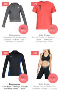 SALE | Under Armour diverse items -50% korting @Bol