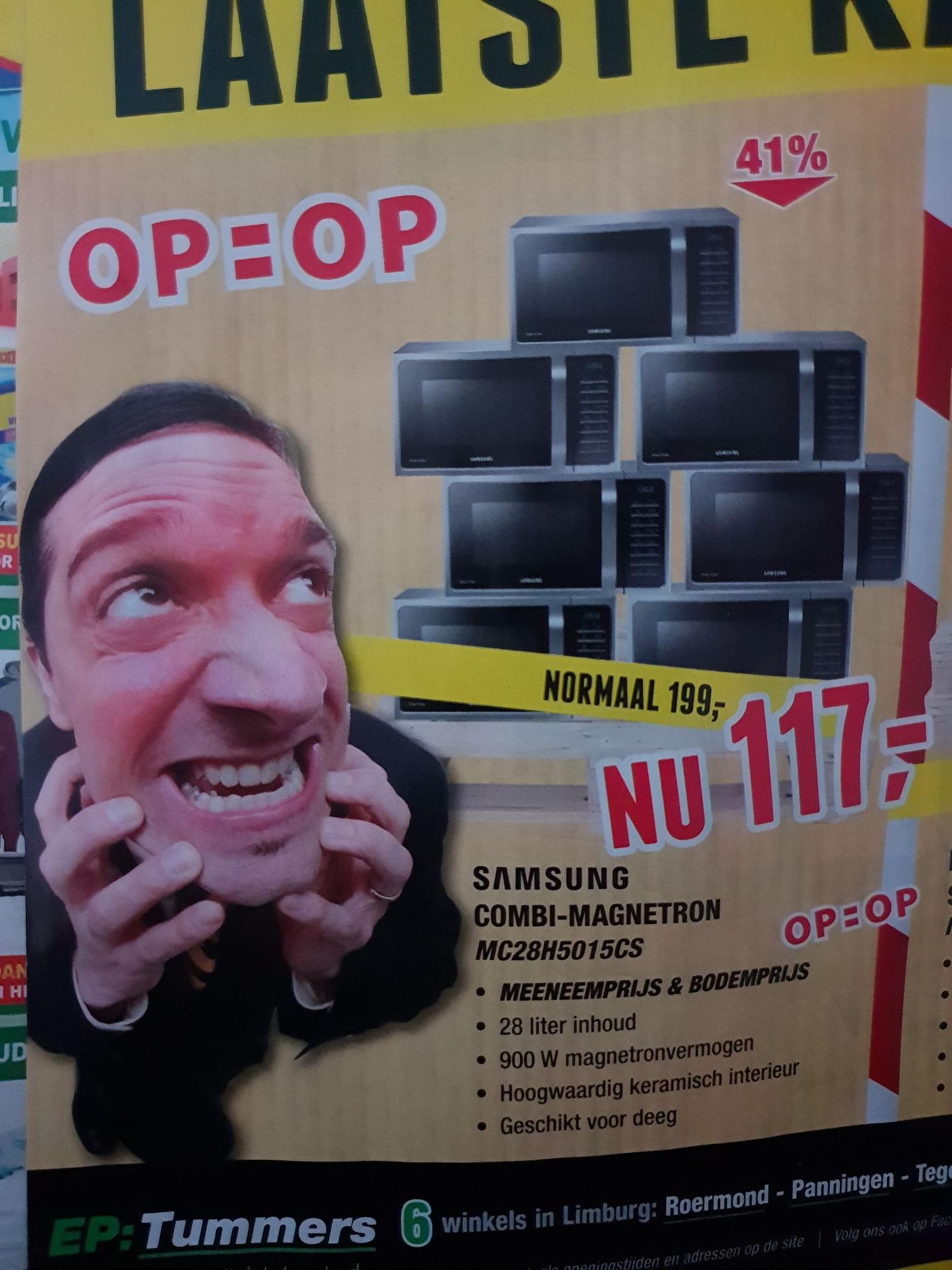 (Lokaal) Samsung COMBI-MAGNETRON MC28H5015CS @EP:Tummers