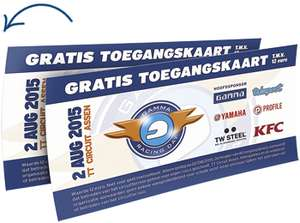 Gratis tickets GAMMA Racing Day
