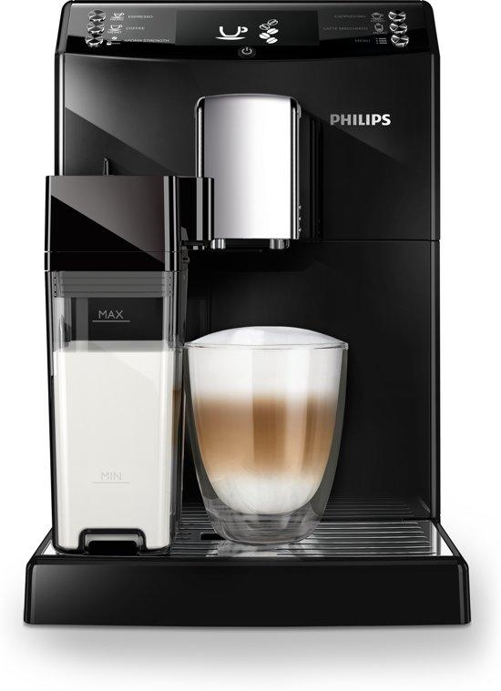 Philips 3100 serie EP3360/00 - Espressomachine - Zwart Maak eenvoudig zes verschillende koffievarianten met of zonder melk