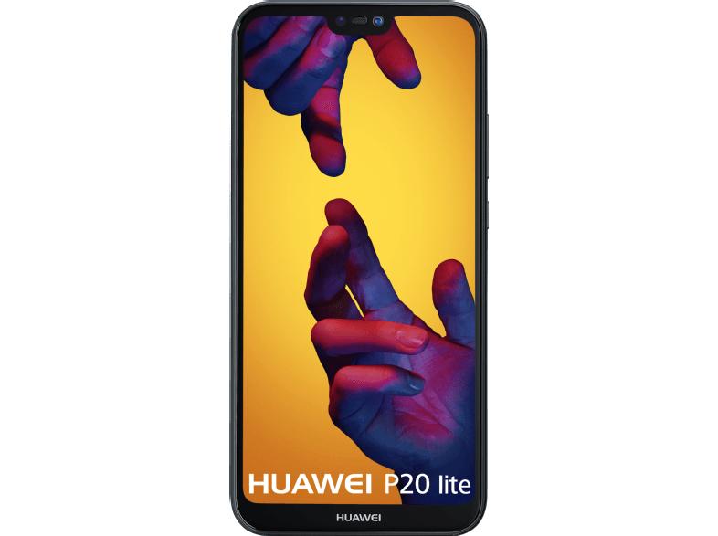 Huawei P20 Lite 64GB (Zwart/blauw/goud)