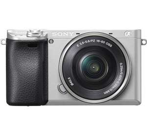 Sony Alpha A6300 Zilver systeemcamera + PZ 16- 50mm OSS voor €589 @ Coolblue