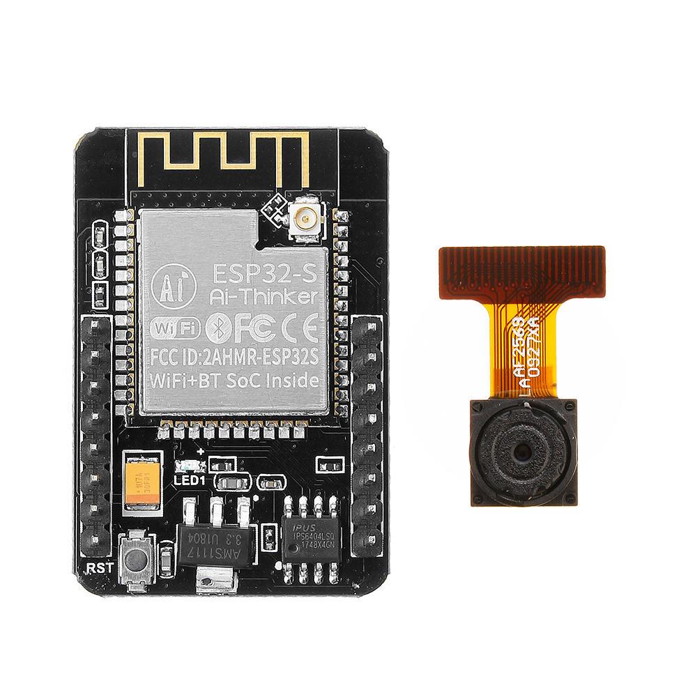 Geekcreit® ESP32-CAM WiFi + Bluetooth Camera Module Development Board voor €7,87