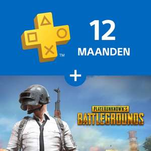 PUBG + 12 maanden PlayStation®Plus - €69,99 @ PSN