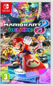 Mario kart 8 deluxe (download via eshop)