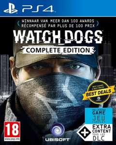 PS4 aanbieding: Watch Dogs complete edition €9,98 (lokaal) en Watch Dogs 2 €14,99