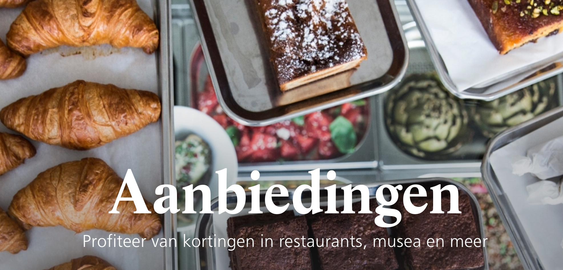 Profiteer van kortingen in restaurants, musea en meer@ns