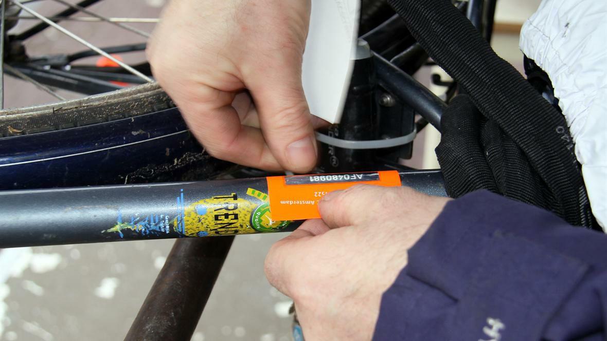 Gratis fiets laten graveren tegen diefstal @ Politie Amsterdam