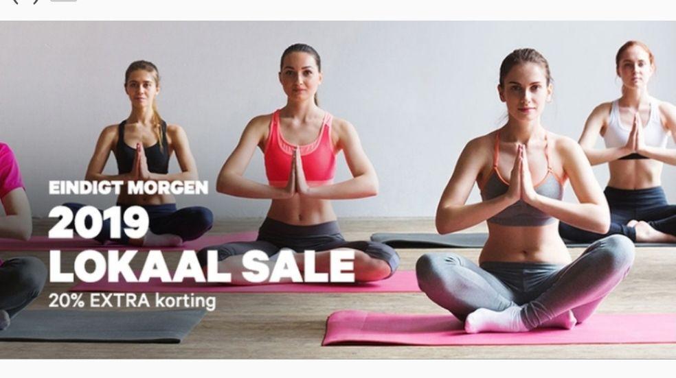 Groupon 20% korting op Lokaal Sale