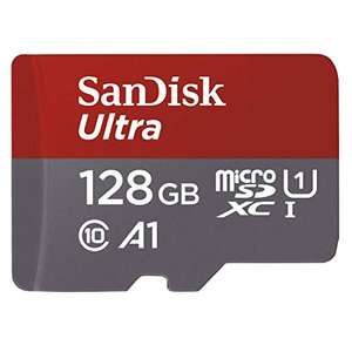 Sandisk 128gb micro SD kaart