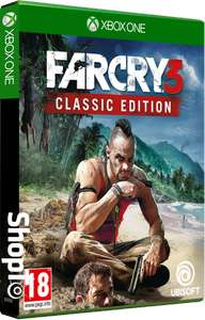 Far Cry 3 Classic Edition (Xbox One & PS4) (gaat om een nieuwe bijgewerkte versie dus geen 360-titel)