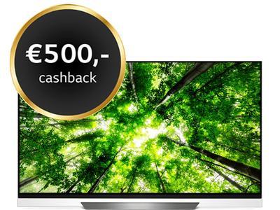 LG 55'' OLED55E8PLA €1.449 na €500 cashback!