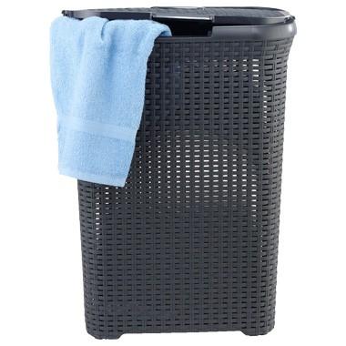 Curver Style wasbox 40 liter grijs met 50% korting bij Blokker