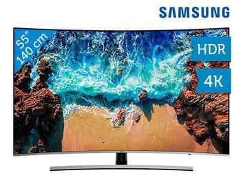 """Samsung 55"""" Curved 4K TV (100 Hz)"""
